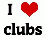 I Love clubs