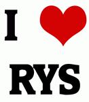 I Love RYS