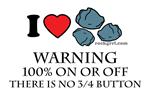 I Love Rocks plus Warning No 3/4