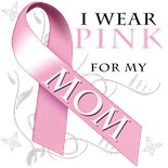 Support Breast Cancer Awareness Pink Ribbon