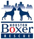 Houston Boxer Rescue Skyline Logo
