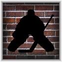 Hockey goalie Full / Queen