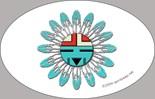 Cool Tribal Flying Bird Artwork