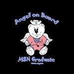 MSN Nurse Graduation Stickers