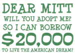 Mitt Will You Adopt Me?