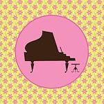 PIANO MUSIC AWARD BUTTONS