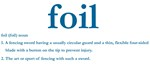 Foil Definition