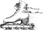 Inline Figure Skate
