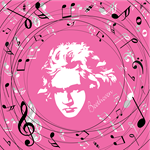 Music Classical Composers Buttons