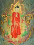 Serene Thailand Thai Framed Art Enlightenme