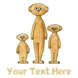 Standing Meerkats