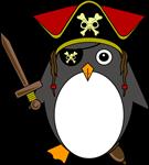Pirate Captguin