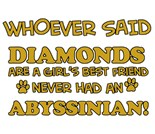 Abyssinian Cats Designs