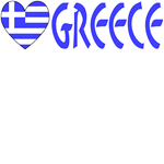 Greek Heart Flag & Greece Kid's Stuff