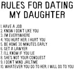Rules Dating My Daughter