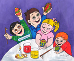 Pysanka Party 4 Kids