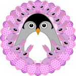 Lilac Lapinguin