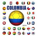 Colombia Brazil 2014
