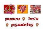 Groovy Peace, Love, Pysanky