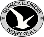 Quincy Illinois Ivory Gull
