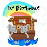 Noah's Ark First Birthday