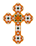 Floral Cross I