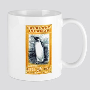 1933 Falkland Islands Penguin Postage Stamp Mugs