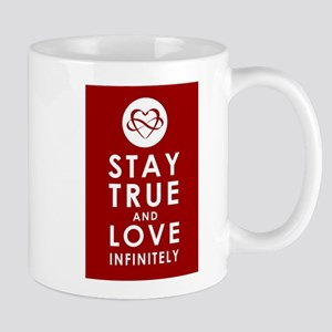 INFINITE LOVE Revolution Red Mug