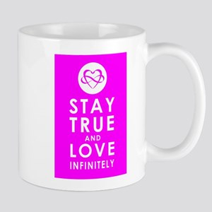 INFINITE LOVE Fierce Fuchsia Mug