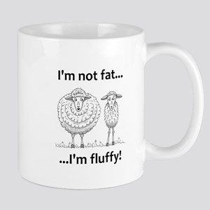 Fluffy sheep Mugs