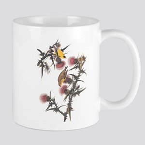 American Goldfinch Birds Audubon Vintage Art Mugs