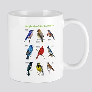 Songbirds of North America Mug