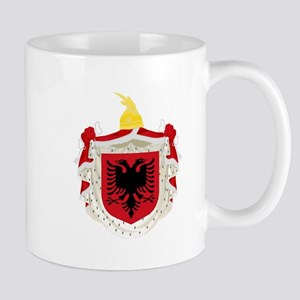 Albanian Kingdom Coat of Arms Mug