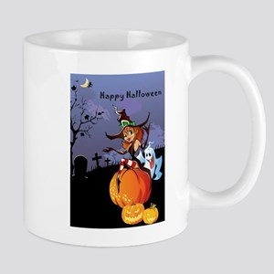 Halloween theme design illustration Mugs
