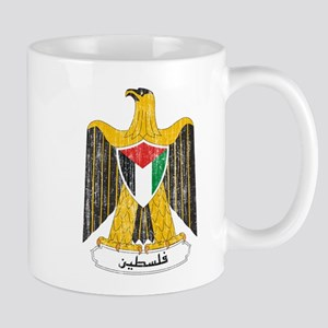 Palestine Coat Of Arms Mug