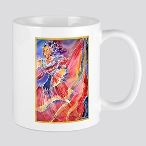 Mexican Dancer, bright, Mug