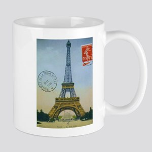 VINTAGE EIFFEL TOWER Mug
