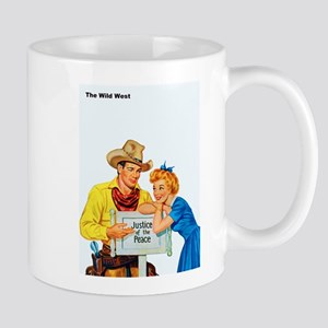 Wild West Justice of the Peace Mug