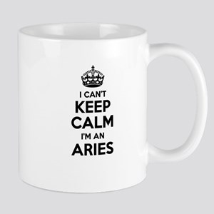 I can't keep calm Im ARIES Mugs
