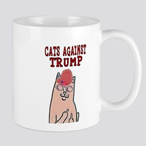 CATS AGAINST TRUMP Mugs