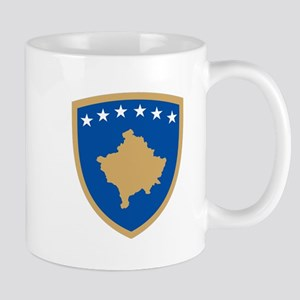 Kosovo Coat of Arms Mug