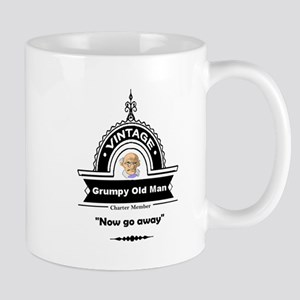 Fun Quote Grumpy Old Man Mugs