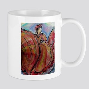 Mexican Dancer, Fiesta, Mugs