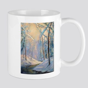 Winter brook pastel Mugs