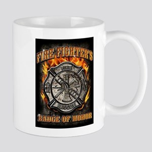 Badge Of Honor Mugs