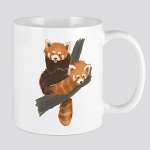 red_panda_cubs 11 oz Ceramic Mug