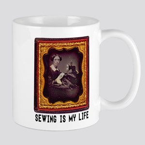 Sewing Is My Life Mugs