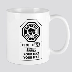 Custom Dharma Label Mugs