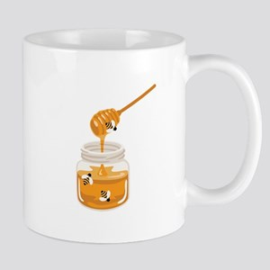 Honey Bees Jar Mugs