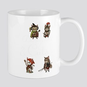 Cats in Dungeons Gift for RPG Gamers and Kitt Mugs
